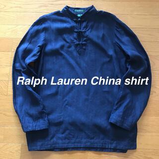 Ralph Lauren - Ralph Lauren ラルフローレン チャイナ シャツ ビンテージ