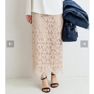 IENA - 再出品 イエナ♡《追加》レースタイトスカート 36