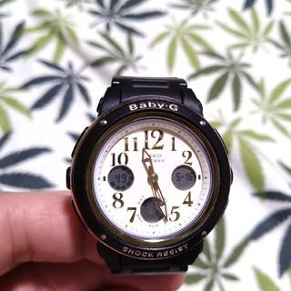 ベビージー(Baby-G)のCASIO Baby-G bga-151ef ジーショック ブラック(腕時計)