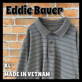エディーバウアー(Eddie Bauer)の【Eddie Bauer】 ポロシャツ XL アメリカ古着 オーバーサイズ(ポロシャツ)