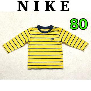 ナイキ(NIKE)のNIKE  ベビー服 長袖 Tシャツ 80(Tシャツ)