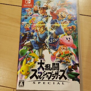 ニンテンドースイッチ(Nintendo Switch)のスマブラ(家庭用ゲームソフト)
