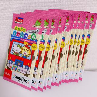 ニンテンドウ(任天堂)の【新品未開封】サンリオ amiibo とびだせどうぶつの森 復刻版 20パック(カード)