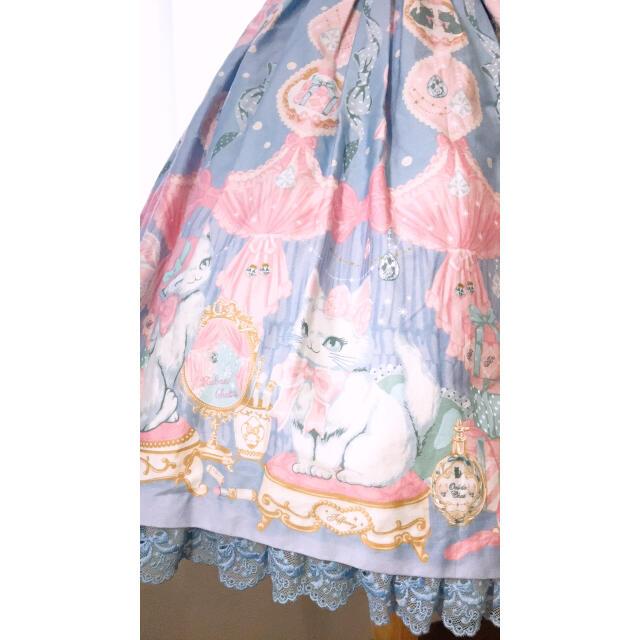 Angelic Pretty(アンジェリックプリティー)のDolly Cat JSK  売り切り価格 レディースのワンピース(ひざ丈ワンピース)の商品写真