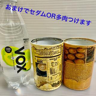 リメイク缶2個 おまけ多肉ORセダムつき(プランター)