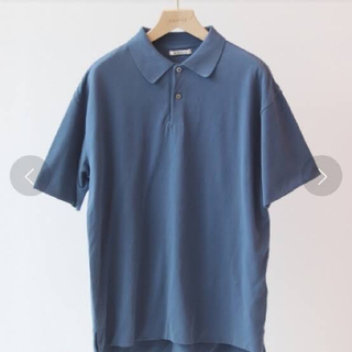 AURALEE×EDIFICE ハイゲージピケダブルクロスポロシャツ 3(ポロシャツ)