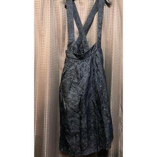 COMME des GARCONS - 2021SS コムコム コムデギャルソン 吊りスカート 今期 刺繍