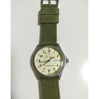 アルバ(ALBA)のトトロ 腕時計 ジブリ アルバ グリーン(腕時計)