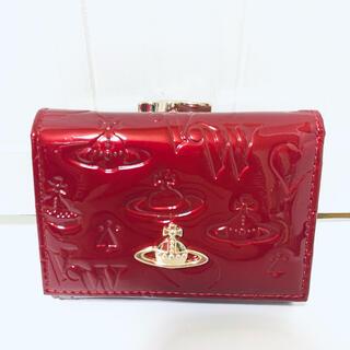 Vivienne Westwood - 美品 ヴィヴィアンウエストウッド エナメル がま口 財布