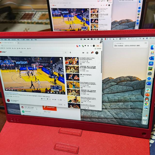 モバイルモニター スマホ/家電/カメラのPC/タブレット(ディスプレイ)の商品写真