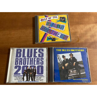 THE BLUES BROTHERS ブルースブラザーズ CD 3枚セット(ポップス/ロック(洋楽))