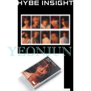 HYBE INSIGHT 公式商品 Photocard txt ヨンジュントレカ(アイドルグッズ)