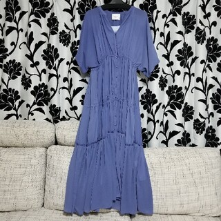 Ameri VINTAGE - AMERI SHEER TIERED DRESS