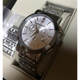 バーバリー(BURBERRY)のBURBERRY バーバリー クロノグラフ 腕時計(腕時計(アナログ))
