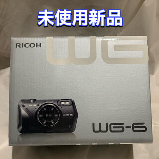 RICOH - 【新品】RICOH WG-6 BLACK ブラック リコー
