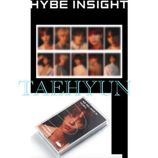 HYBE INSIGHT 公式商品 Photocard txt テヒョントレカ(アイドルグッズ)