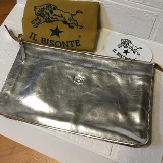 イルビゾンテ(IL BISONTE)の極美品!限定品 46200円 イルビゾンテ  クラッチバッグ 大(クラッチバッグ)