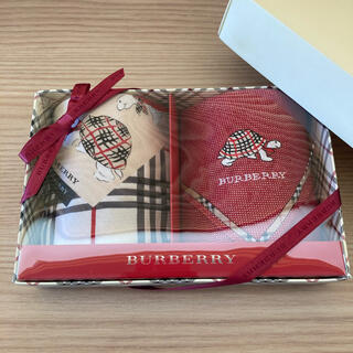 バーバリー(BURBERRY)のBurberryバーバリーハンカチ2枚セット(ハンカチ)