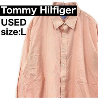 トミーヒルフィガー(TOMMY HILFIGER)の【USED】tommy Hilfiger 長袖シャツ 010 FT(シャツ)