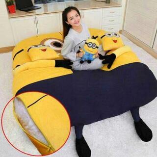キルトラグミニオンベッド厚いタイプ 繊毯カーペット かわいいじゅうたん(ラグ)