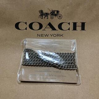 コーチ(COACH)の新品未使用 コーチ チェーンストラップ シルバー(その他)