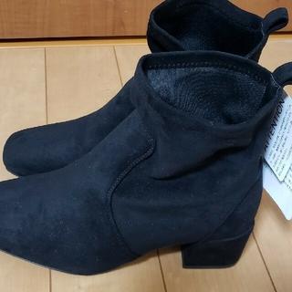 シマムラ(しまむら)の新品 プチプラあやプロデュースショートブーツ 3Lサイズ(ブーツ)