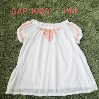 GAP Kids - GAP  KIDS  刺繍トップス