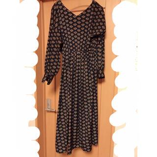 フラワー(flower)の博多 天神の古着屋さんで購入 アンティークなロングドレス(ロングワンピース/マキシワンピース)