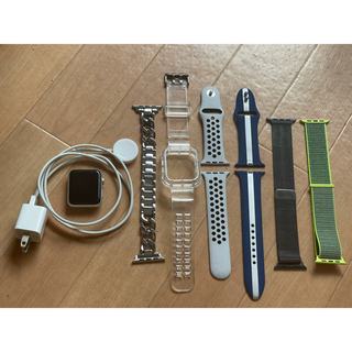 Apple Watch - 美品 Apple Watch 3 42mm バンド4点 バッテリー付き