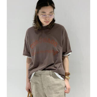 アパルトモンドゥーズィエムクラス(L'Appartement DEUXIEME CLASSE)の【R JUBILEE/アール ジュビリー】 別注 CORONADO Tシャツ  (Tシャツ(半袖/袖なし))