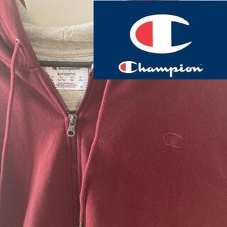 チャンピオン(Champion)のChampion パーカー ジップ バーガンディ色 3XL(パーカー)