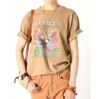 アパルトモンドゥーズィエムクラス(L'Appartement DEUXIEME CLASSE)の 【GOOD ROCK SPEED】EAGLE Tシャツ(Tシャツ(半袖/袖なし))