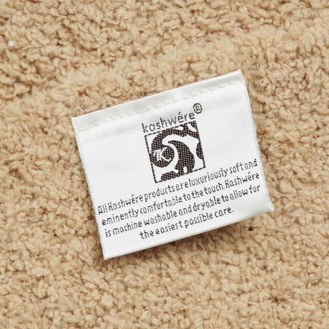kashwere(カシウエア)のカシウエア Kashwere ブランケット 無地 ブラウン ノーマルサイズ インテリア/住まい/日用品の寝具(毛布)の商品写真
