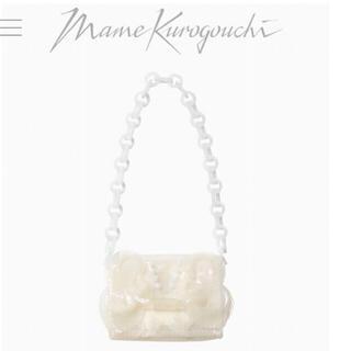 mame - 希少  新品未使用mame kurogouchi PVC ミニチェーンバッグ