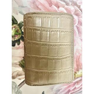 シマムラ(しまむら)のプチプラのあや 財布 PAクロコガラサイフ 中肌色 しまむら(財布)