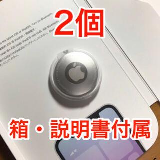 Apple - 【未使用】Apple AirTag 2個 箱・説明書付属