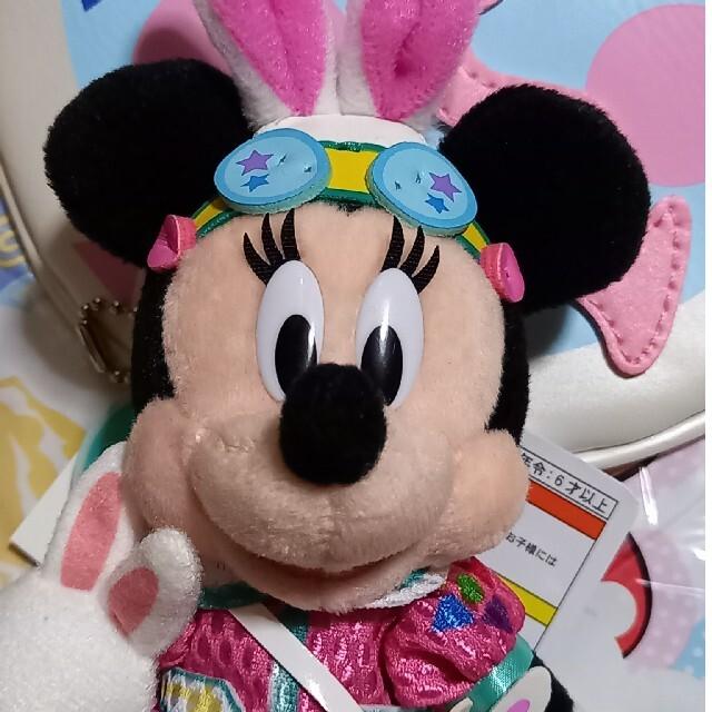 Disney(ディズニー)のディズニーイースター うさたま ミニーマウス エンタメ/ホビーのおもちゃ/ぬいぐるみ(キャラクターグッズ)の商品写真