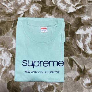 Supreme - 20ss Supreme shop tee tシャツ mint m logo