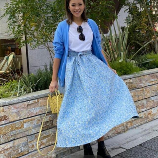 Chesty(チェスティ)の【新品未使用タグ付き】ロージーモンスター スプリングフラワージャガードスカート レディースのスカート(ロングスカート)の商品写真
