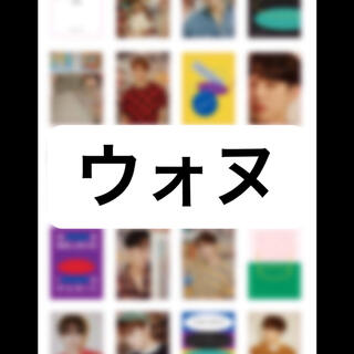 セブンティーン(SEVENTEEN)のSEVENTEEN HYBE INSIGHT ポストカード トレカ ウォヌ(K-POP/アジア)