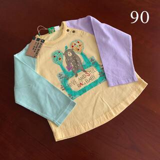 RAG MART - ⭐️未使用品 ラグマート 長袖Tシャツ 90サイズ 男女兼用