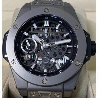 ウブロ(HUBLOT)の定価232万【正規品・超美品】HUBLOT ビッグバン メカ10 チタニウム(腕時計(アナログ))