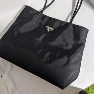 ファッショントートバッグ ナイロン 黒