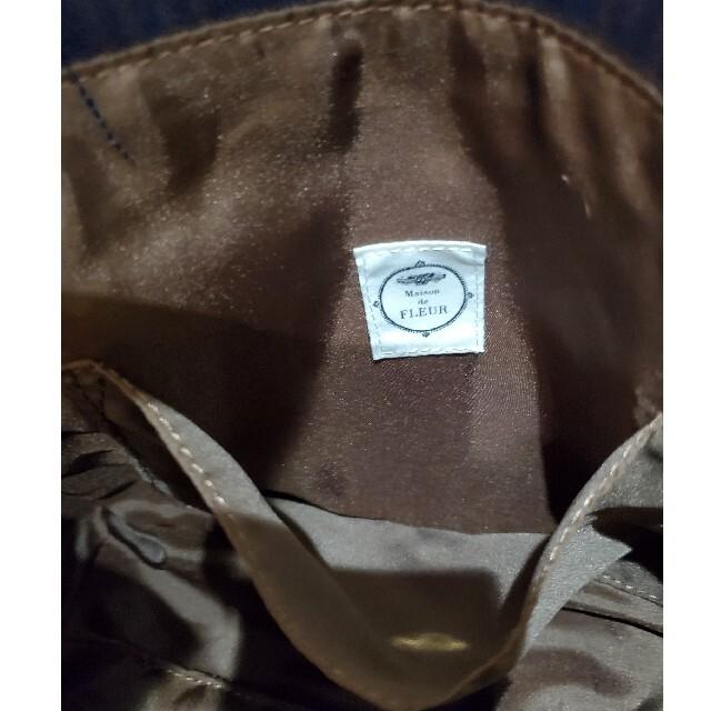Maison de FLEUR(メゾンドフルール)のメゾンドフルール トートバッグ チェック柄 レディースのバッグ(トートバッグ)の商品写真