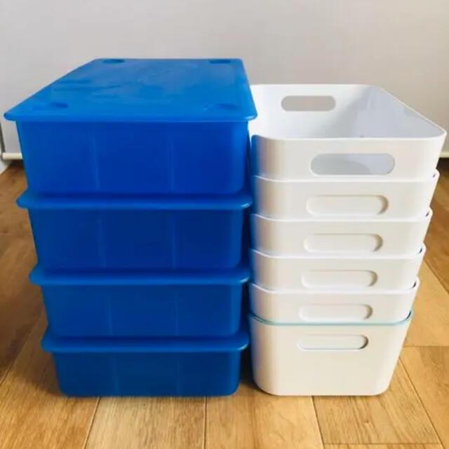 IKEA(イケア)のIKEA イケア GLIS グリース VARIERA  ヴァリエラ ボックス インテリア/住まい/日用品の収納家具(ケース/ボックス)の商品写真