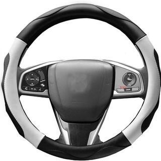 ハンドルカバー 軽自動車ステアリングカバー sサイズ 3Dグリップ滑り止め(車内アクセサリ)