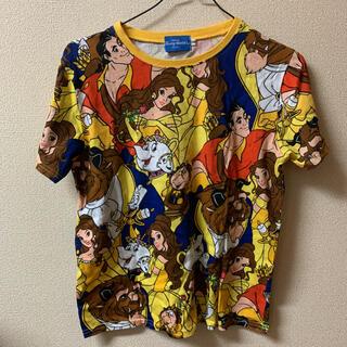 ディズニー(Disney)のディズニー 美女と野獣 Tシャツ(Tシャツ(半袖/袖なし))