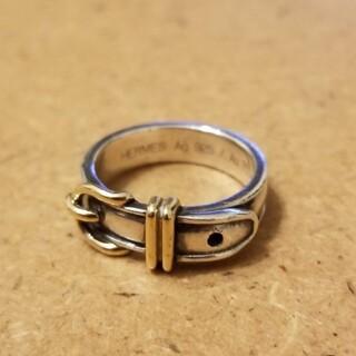 エルメス(Hermes)のエルメス HERMES サンチュール 925 18K ヴィンテージ ベルトリング(リング(指輪))