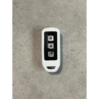 N-BOX NBOXプラス Nワゴン N-ONE スマートキーケース 白 新品(車内アクセサリ)