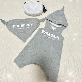 バーバリー(BURBERRY)のバーバリー Burberry ベビー服 70cm 新品(ロンパース)